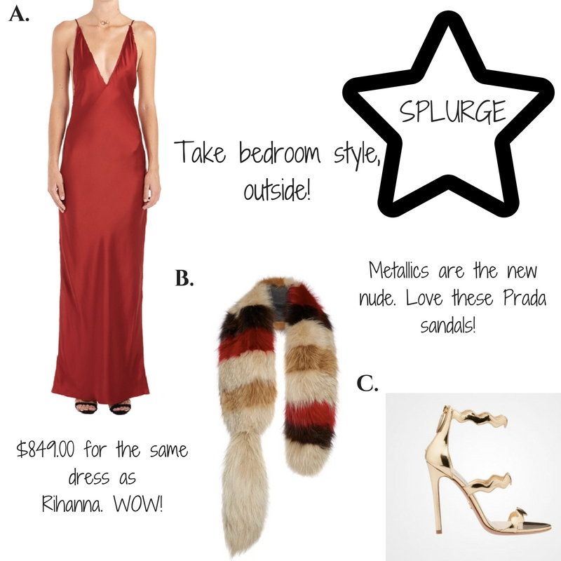 get the look: rihanna boudoir style