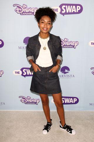 Premiere Of Disney Channel's 'The Swap' - Arrivals
