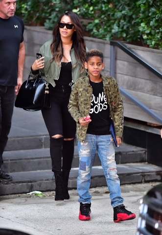 Celebrity Sightings in New York City - October 4, 2016