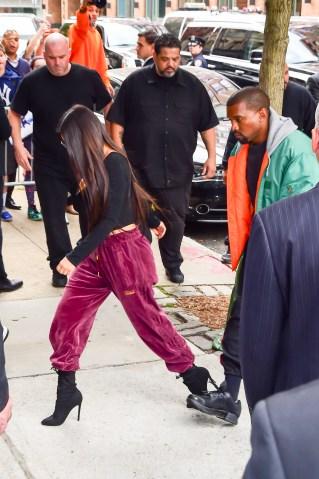 Celebrity Sightings in New York City - October 3, 2016