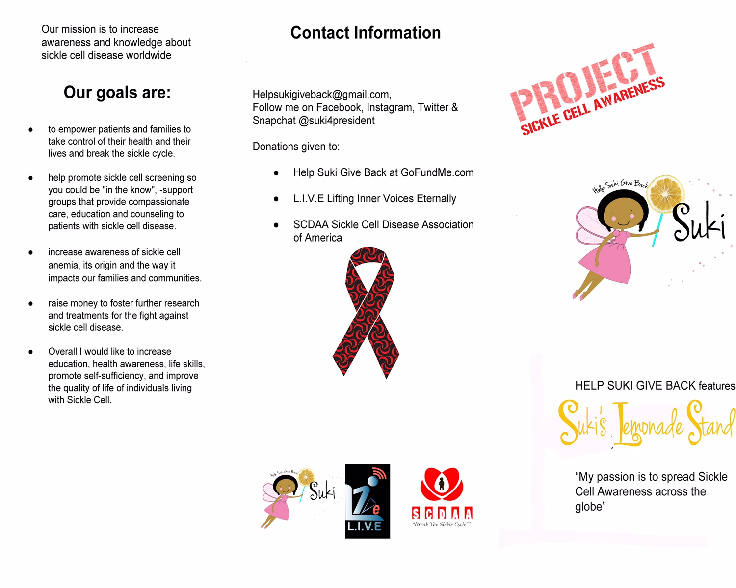 Project Sickle Cell Awareness