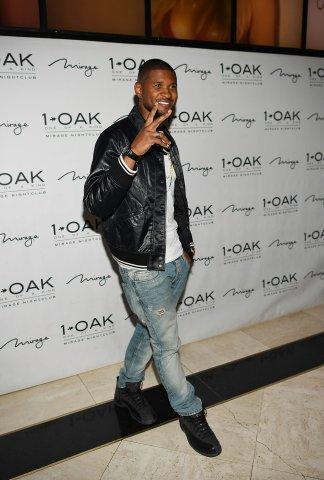 1 OAK Las Vegas Hosts Official Album Release Party For Usher's 'Hard II Love' Album