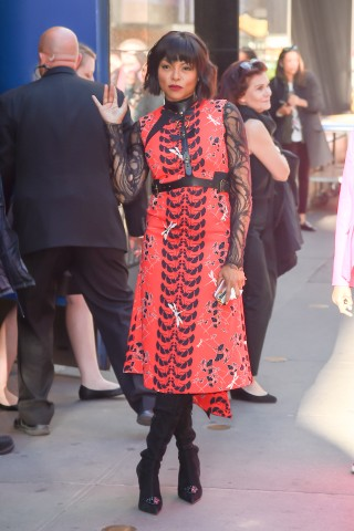 Celebrity Sightings in New York City - October 11, 2016