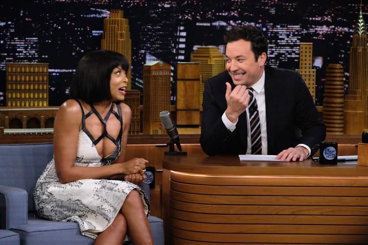 Taraji P Henson Visits 'The Tonight Show Starring Jimmy Fallon'