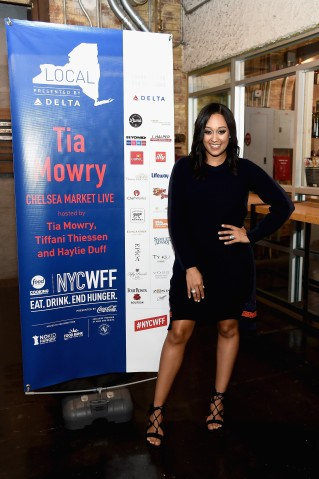Food Network & Cooking Channel New York City Wine & Food Festival Presented By Coca-Cola - Chelsea Market Live hosted by Haylie Duff, Tia Mowry and Tiffani Thiessen