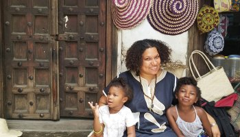 African American Muslim Family