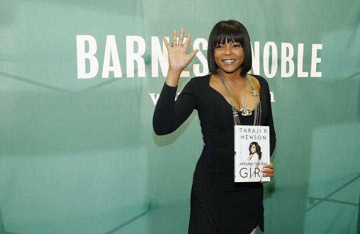 Taraji P. Henson Signs Copies Of Her New Book 'Around The Way Girl'
