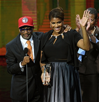 SPIKE LEE AND DR. VIETTA JOHNSON