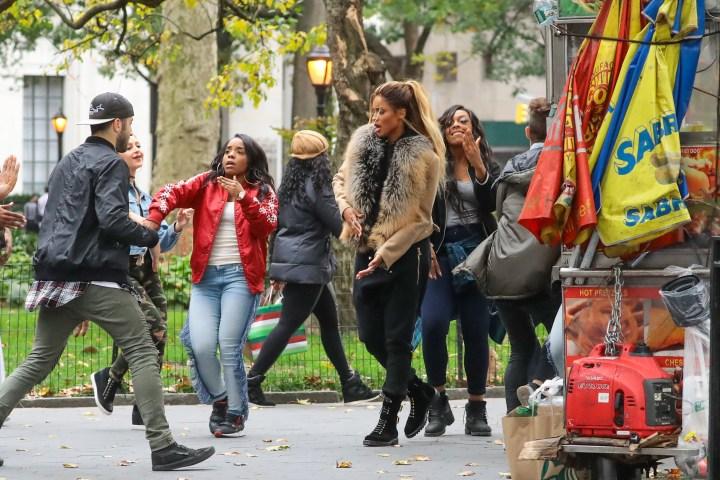 Celebrity Sightings In New York - November 03, 2016