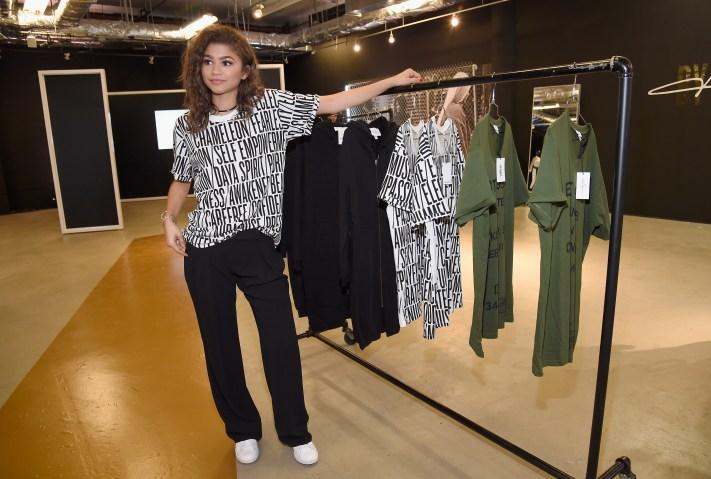 Zendaya Unveils Daya By Zendaya In NYC