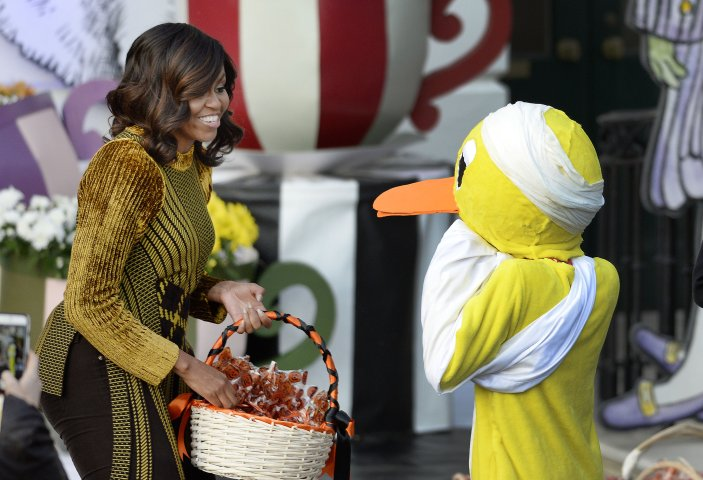President Obama And First Lady Host Halloween Event At The White House