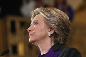 Hillary Clinton Makes A Statement After Loss In Presidential Election