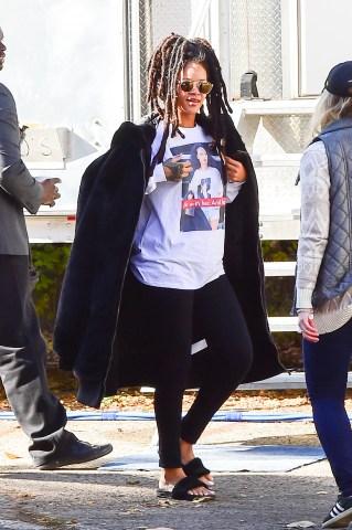 Celebrity Sightings in New York City - November 8, 2016