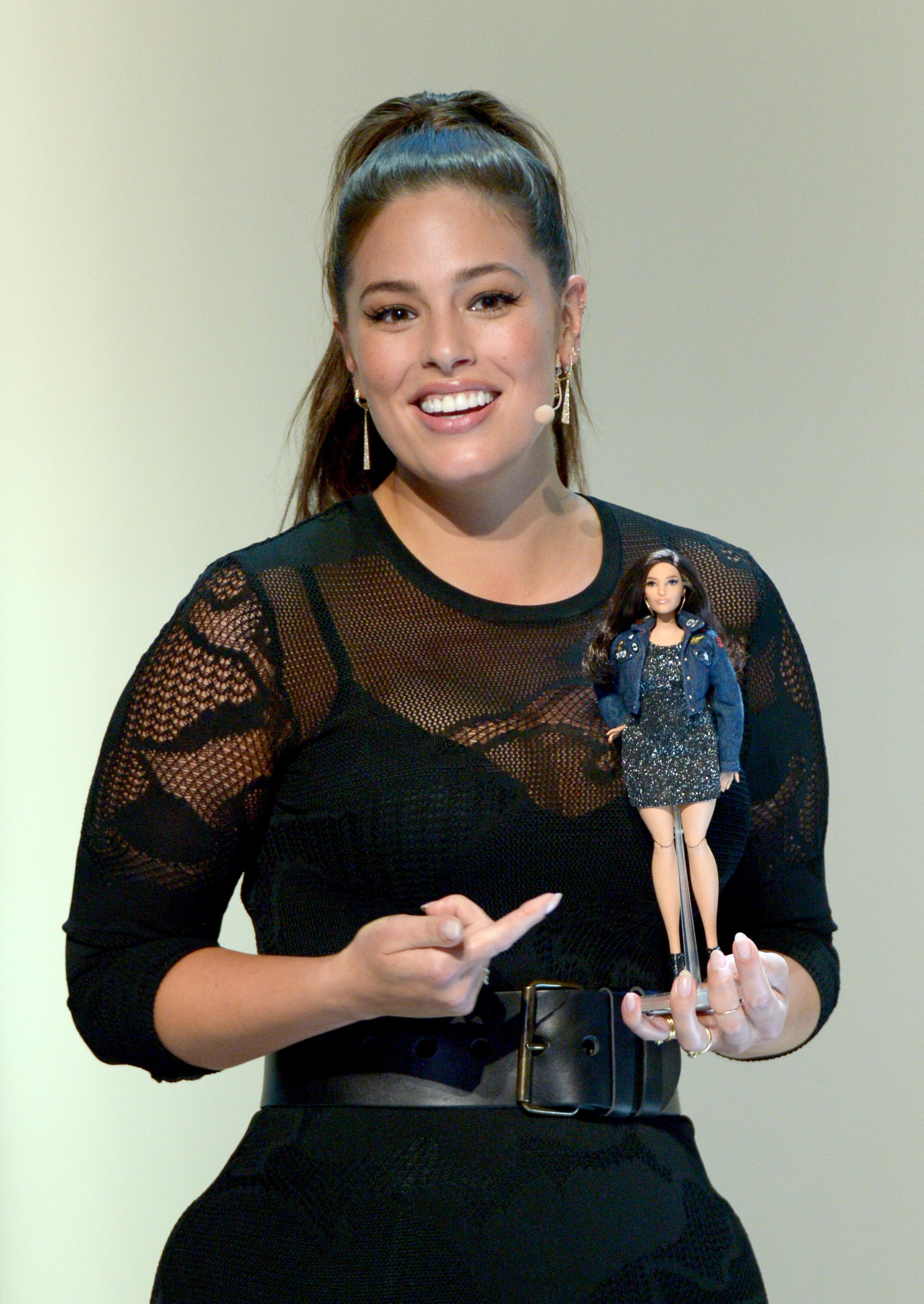 Glamour Women Of The Year 2016 LIVE Summit - Barbie Unveils Custom Ashley Graham Doll
