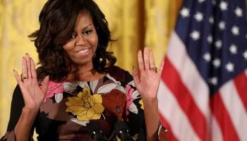 Michelle Obama Addresses White House's Veterans Homelessness Summit