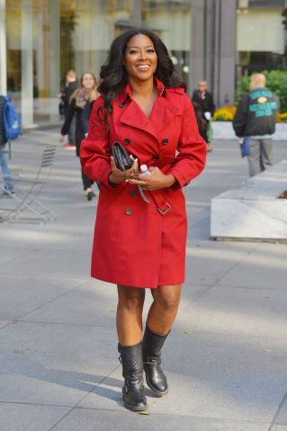 BuzzFoto Celebrity Sightings In New York Ð November 14, 2016