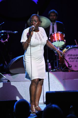 Sharon Jones Performs At Wiltern Theatre In Los Angeles