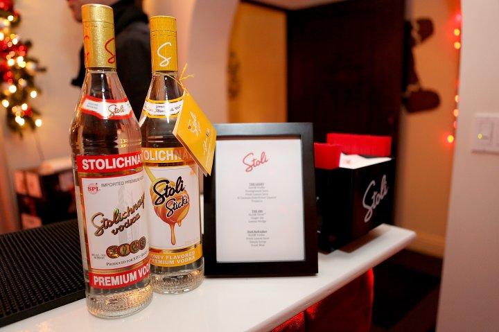elit By Stolichnaya Celebrates Geoff Stults And Ari Sandel's Holiday Party
