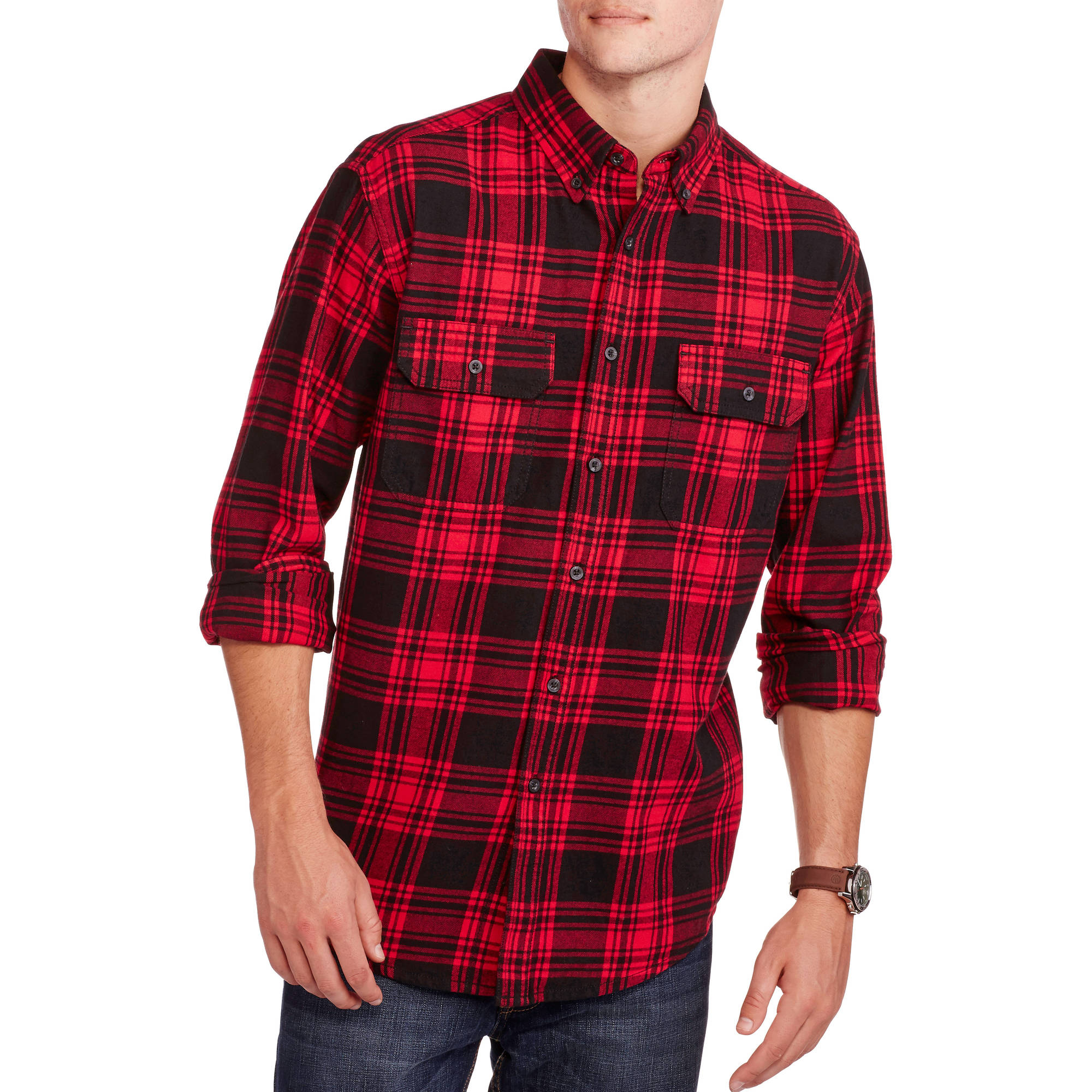 Faded Glory Flannel Shirt