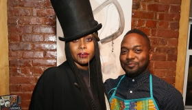 Soul Train Soul Food Vegan Dinner Party Hosted By Erykah Badu With Chef Bryant Terry