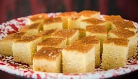Plate of Cornbread Squares