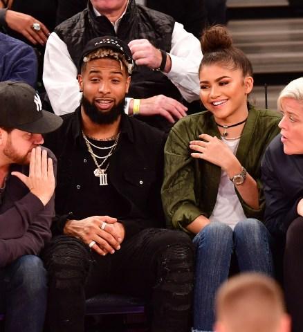 Celebrities Attend Oklahoma City Thunder Vs. New York Knicks - November 28, 2016