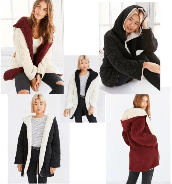 Ecote Cozy Reversible Coat