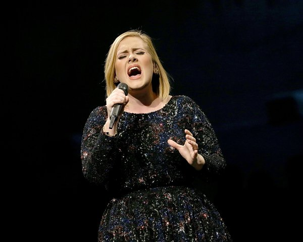 Adele Live 2016 - North American Tour In Austin, TX