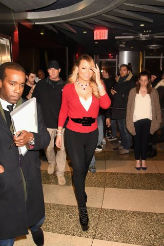 Mariah Carey Visits The Empire State Building