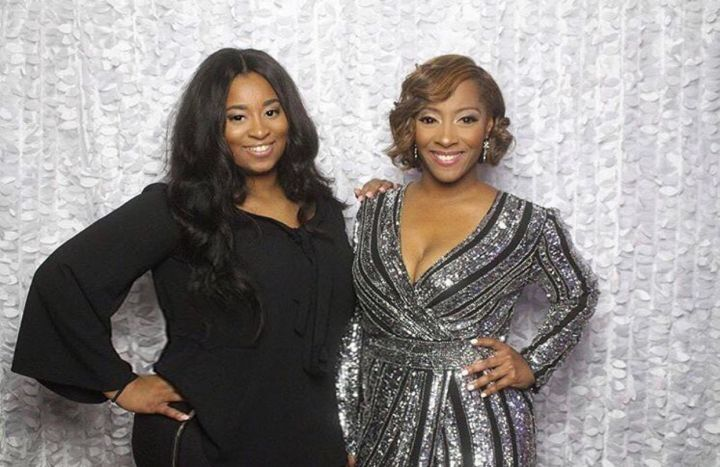 Founder of The Kids League & her Daughter Nia Leath