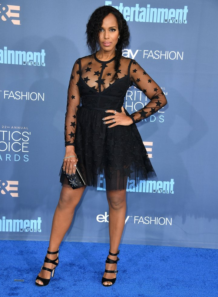 Kerry Washington attends the The 22nd Annual Critics' Choice Awards
