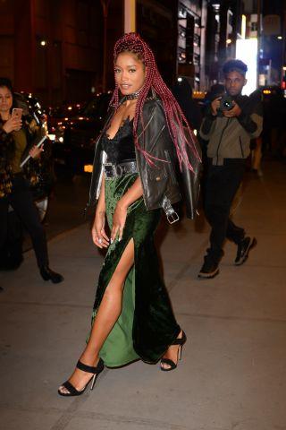 Celebrity Sightings in New York City - December 16, 2016