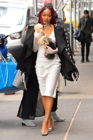 Celebrity Sightings in New York City - December 15, 2016