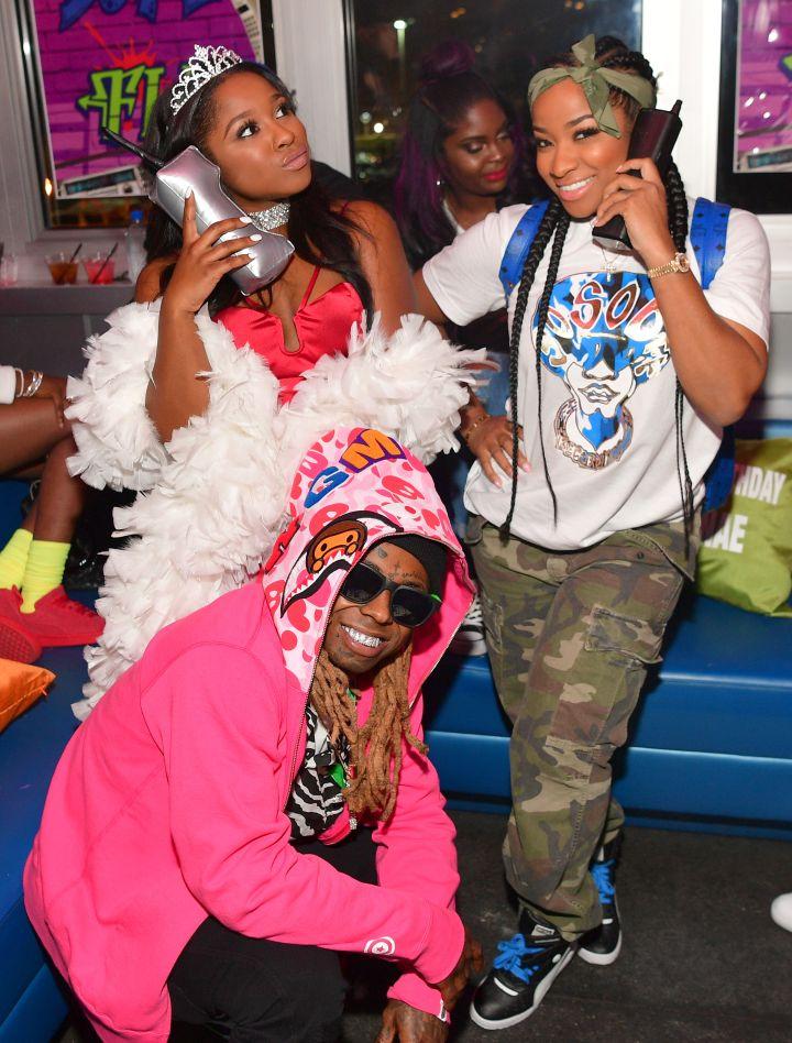 Lil Wayne & Toya's Co-Parenting