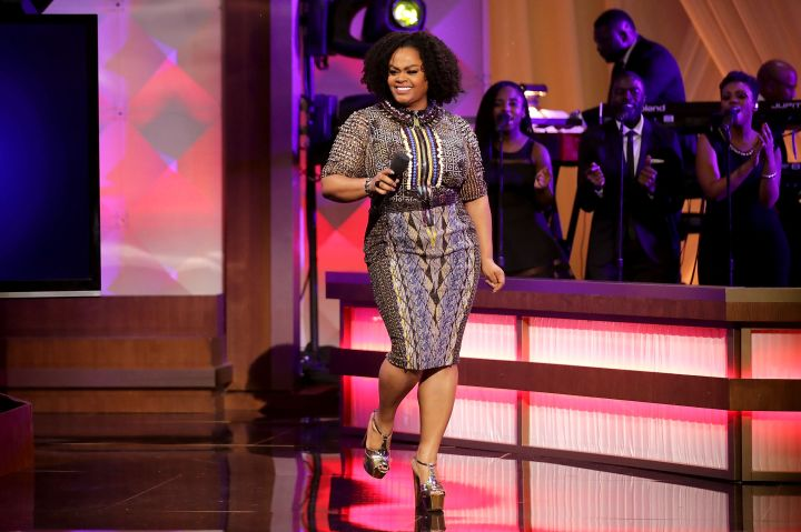Jill Scott performs during the BET's 'Love and Happiness: A Musical Experience'