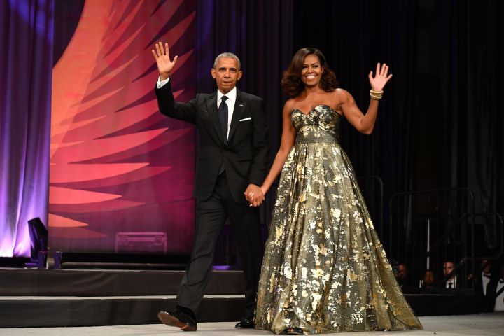 MICHELLE OBAMA AT THE BLACK CAUCUS' PHOENIX AWARDS DINNER 2016