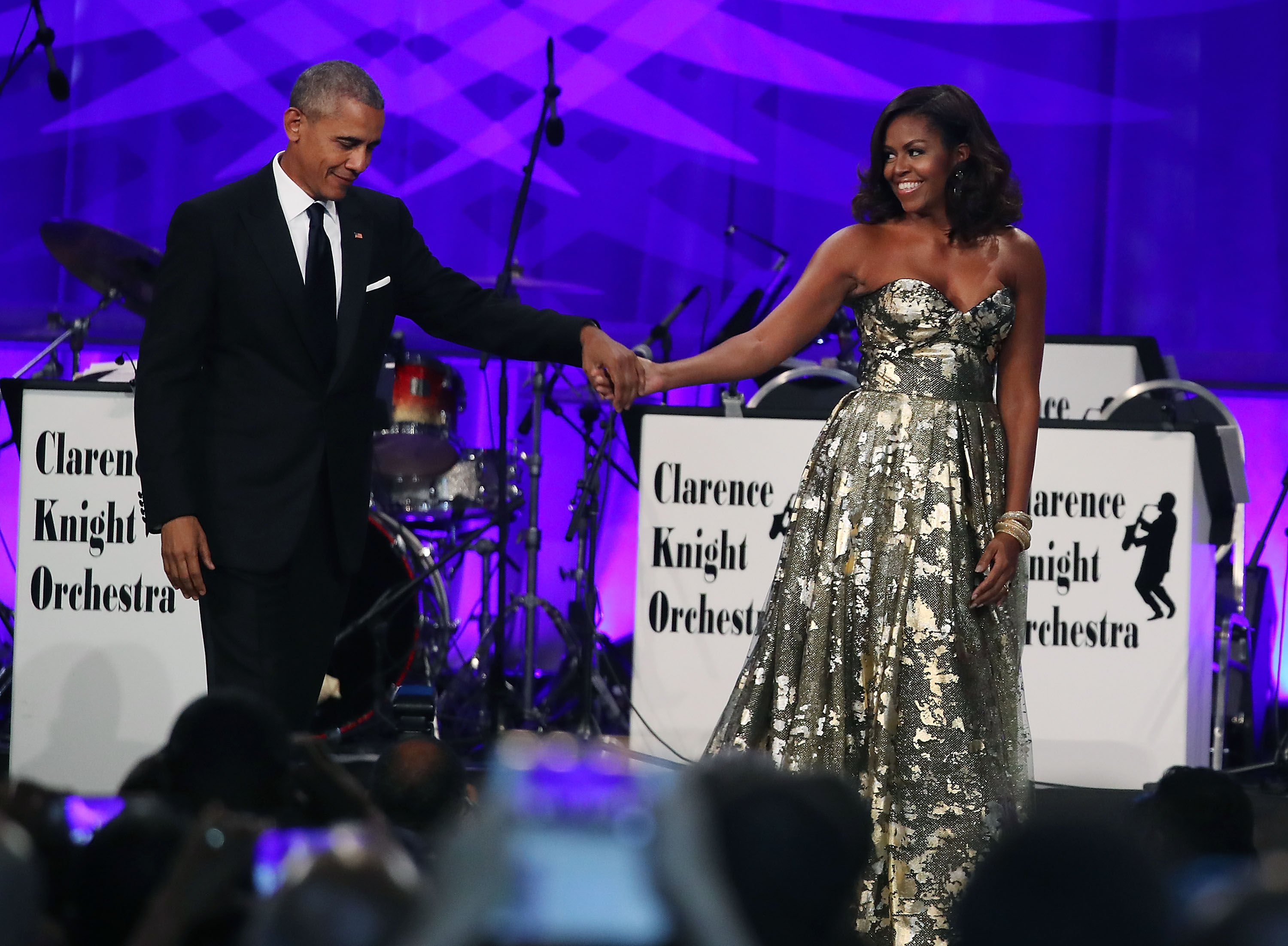 President Obama and Hillary Clinton Speak At The Congressional Black Caucus' Annual Phoenix Awards