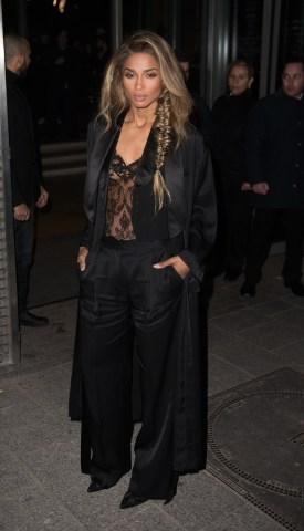 FRANCE - Paris Fashion Week - Givenchy Arrivals