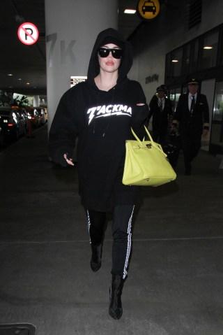 Celebrity Sightings In Los Angeles - December 23, 2016