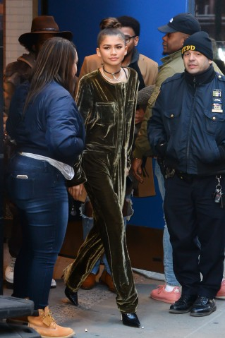 Celebrity Sightings in New York City - December 20, 2016