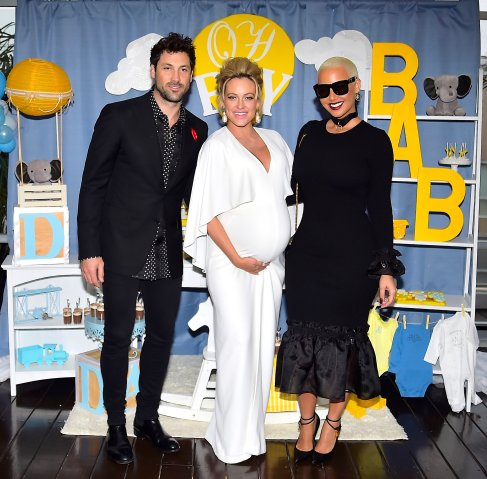 Maksim Chmerkovskiy and Peta Murgatroyd Baby Shower