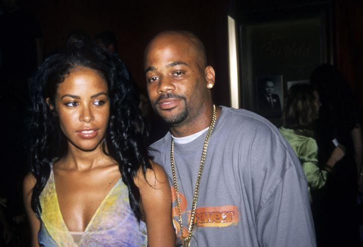 Aaliyah & Dame Dash
