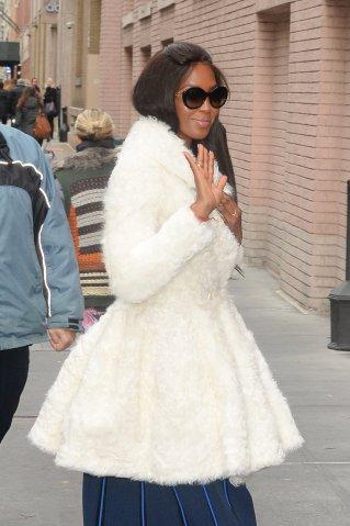 Celebrity Sightings in New York City - January 4, 2017
