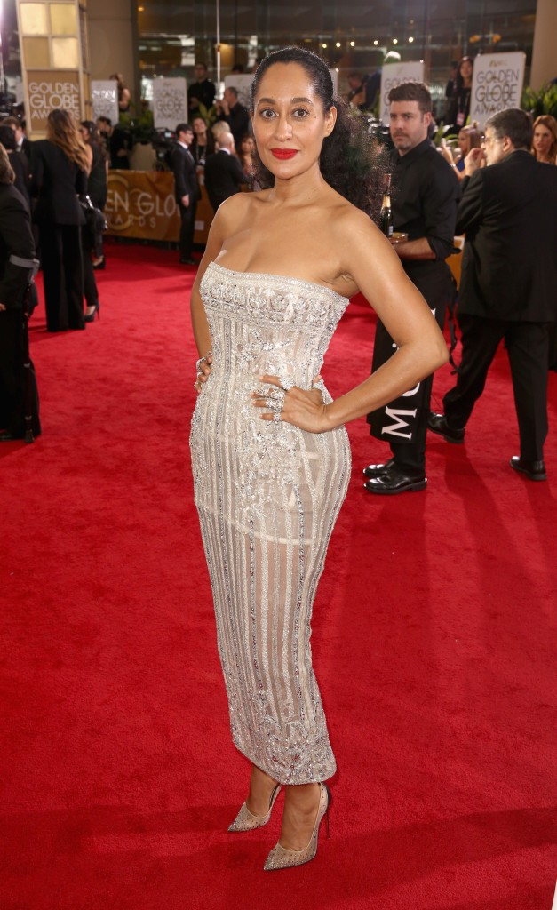 Moet & Chandon At The 74th Annual Golden Globe Awards - Red Carpet