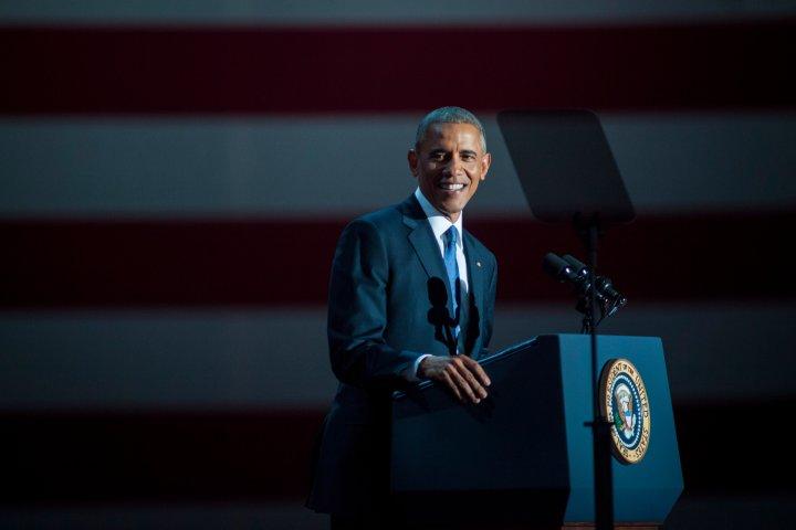 Obama's farewell speech, Jan. 10, 2017.
