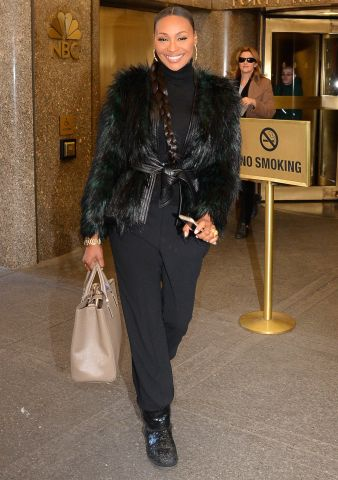 Celebrity Sightings in New York City - January 4, 2016