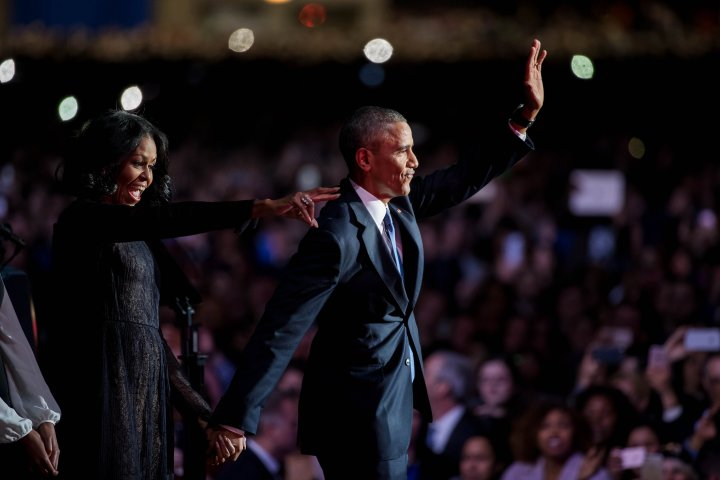 U.S.-CHICAGO-PRESIDENT-BARACK OBAMA-FAREWELL ADDRESS