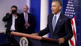 President Obama Holds Final News Conference At The White House