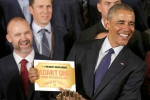 US-POLITICS-OBAMA-CHICAGO CUBS