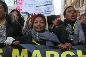 Women's march LondonAnti-Trump Women's march London